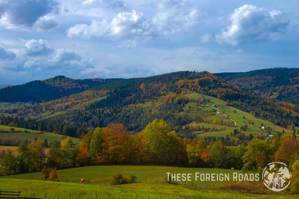 Countryside of Bosnia