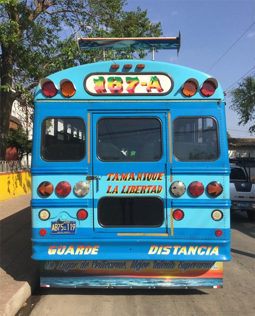 The Chicken Bus