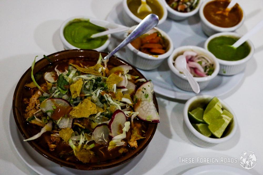 Oaxaca food, Pozole