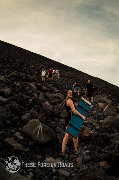 Climbing Volcano