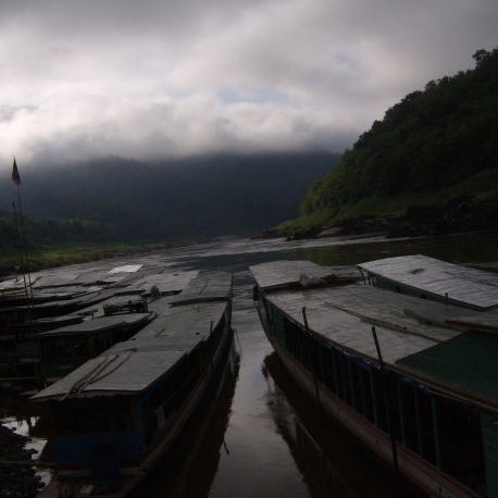 The Slow Boat into Laos