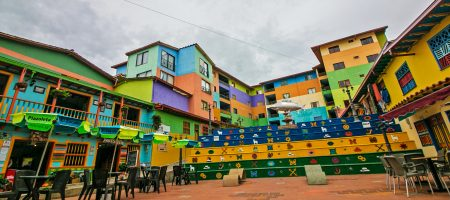 Visiting Guatape, Colombia