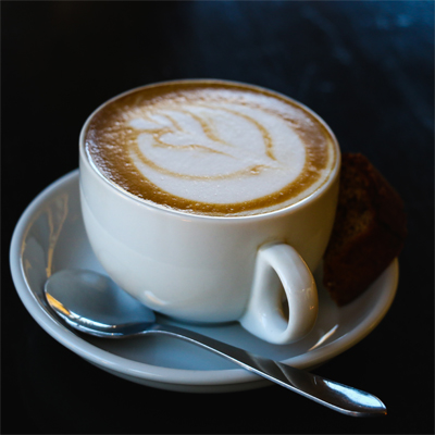 A perfect cup of cappuccino