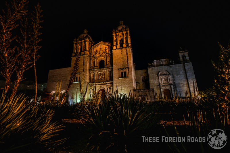 Santo Domingo Church at Night