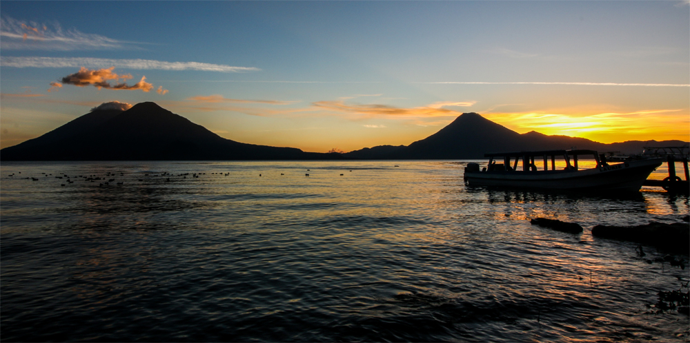 Lake Atitlan Sunset