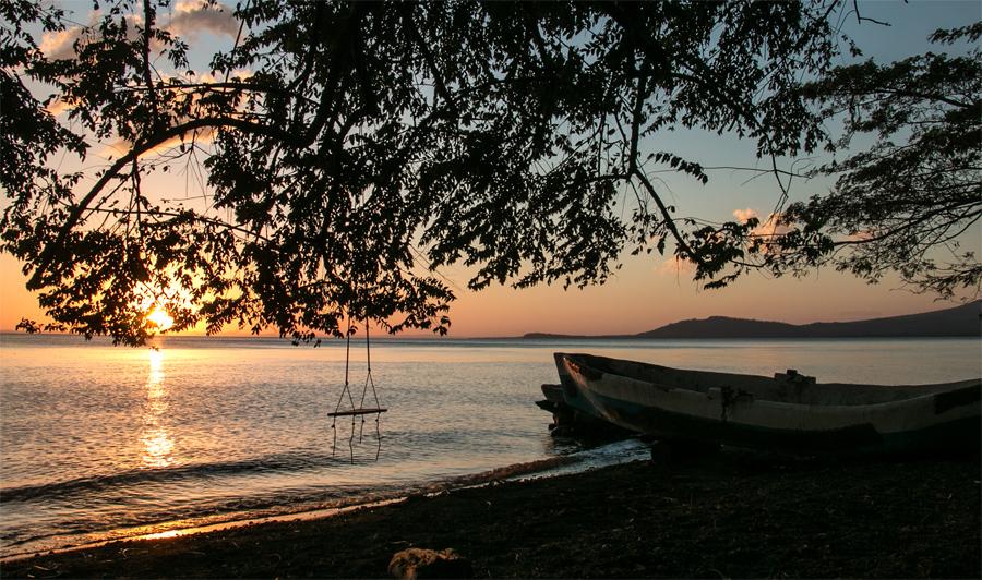 Sunset Ometepe Nicaragua