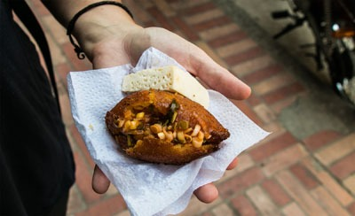 Reganonas: Colombia Corn Fritters